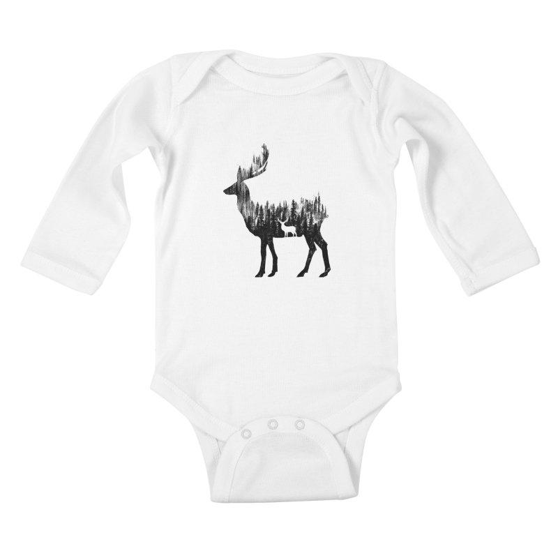 The Deer Kids Baby Longsleeve Bodysuit by barmalisiRTB