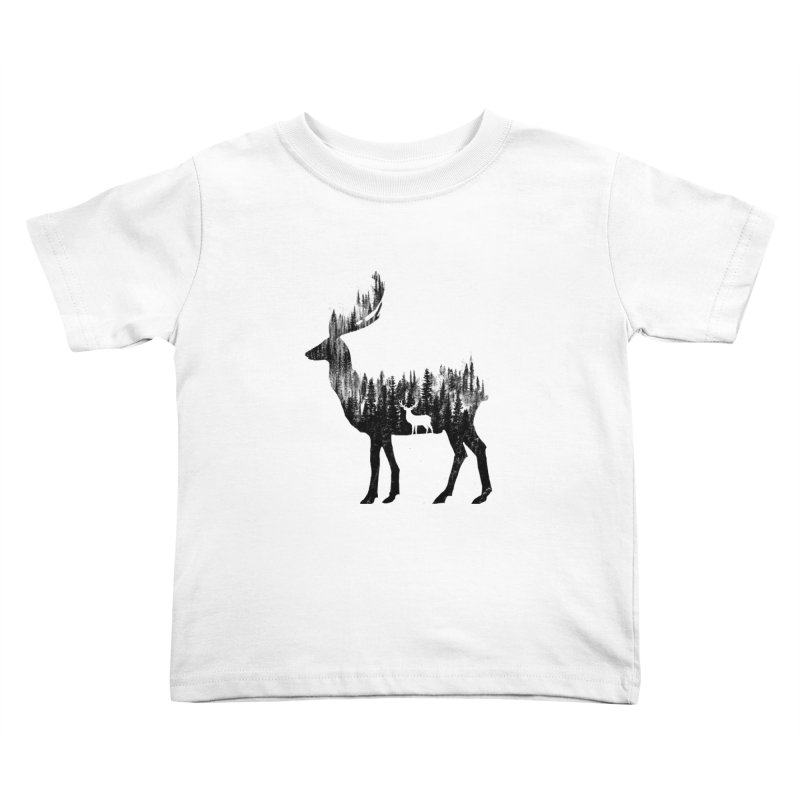The Deer Kids Toddler T-Shirt by barmalisiRTB