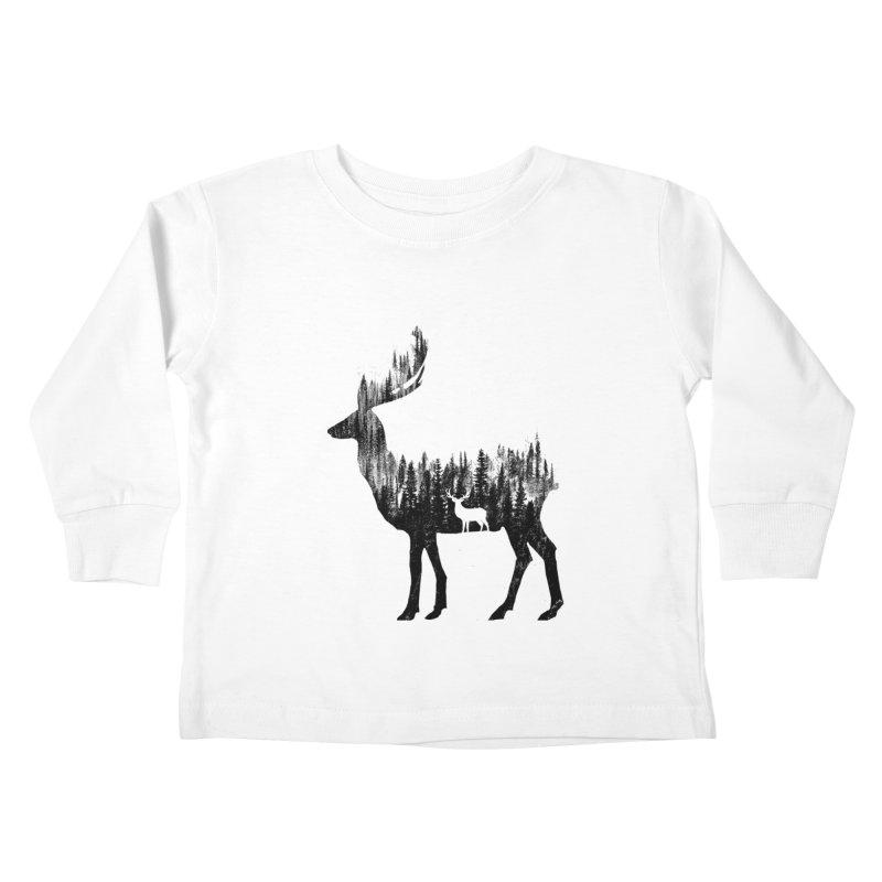 The Deer Kids Toddler Longsleeve T-Shirt by barmalisiRTB