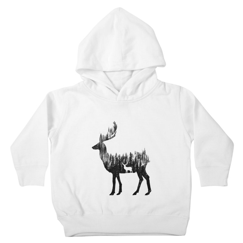 The Deer Kids Toddler Pullover Hoody by barmalisiRTB