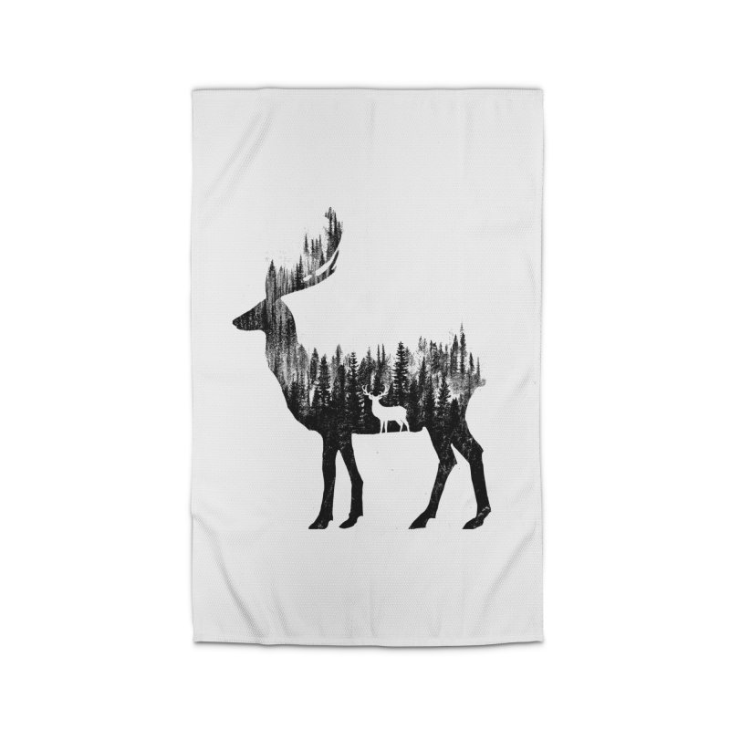 The Deer Home Rug by barmalisiRTB