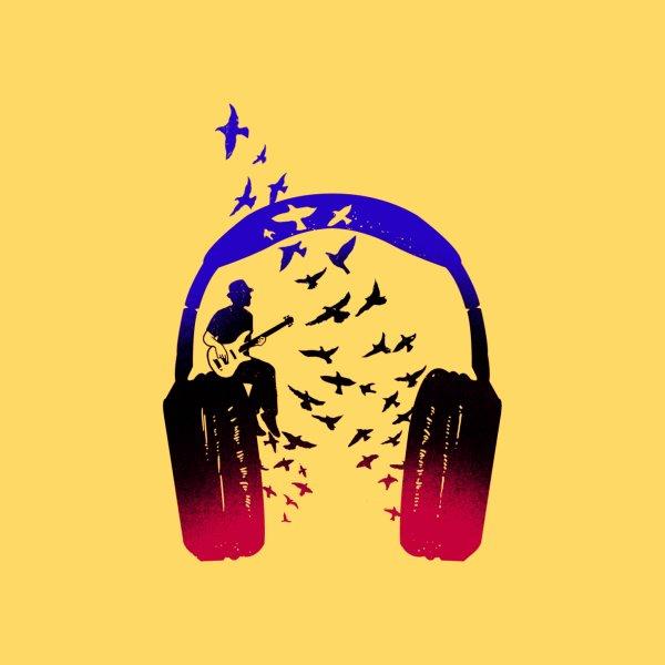 image for Headphone Music Bassist