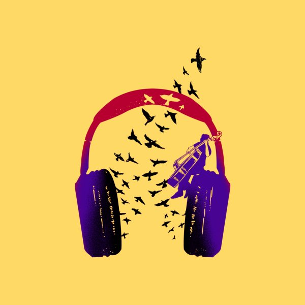 image for Headphone music Doublebass
