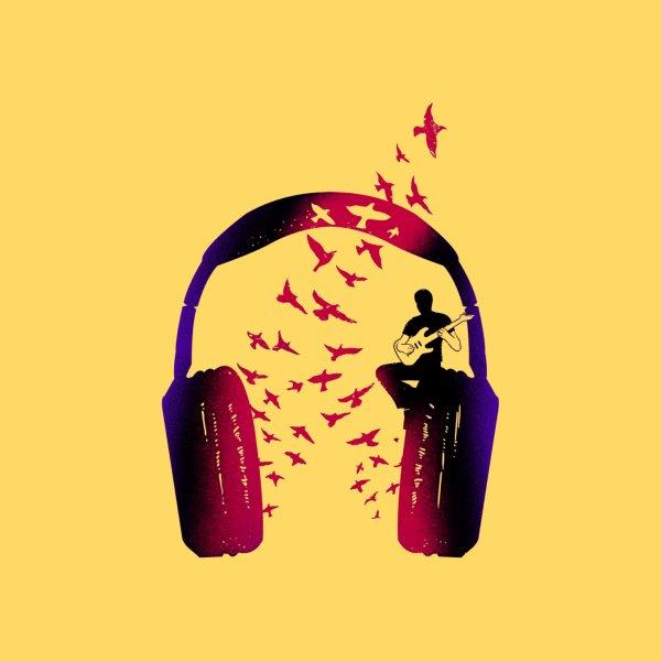 image for Headphone Music Guitarist
