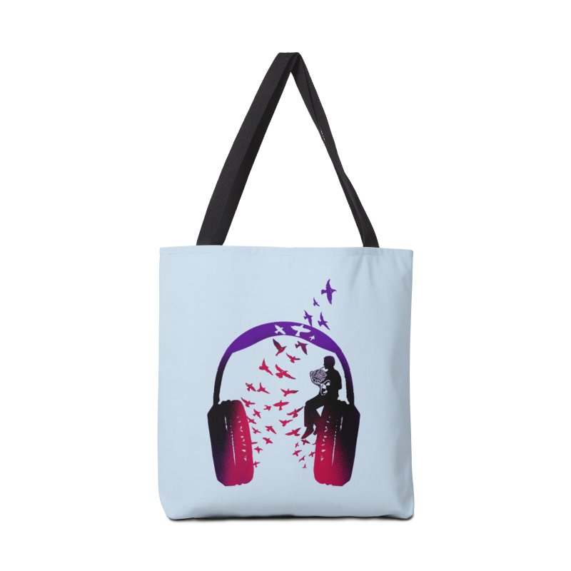 Headphone Music French Horn Accessories Bag by barmalisiRTB