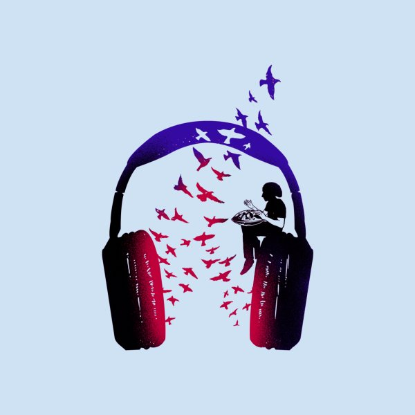 image for Headphone Music Hang Drum