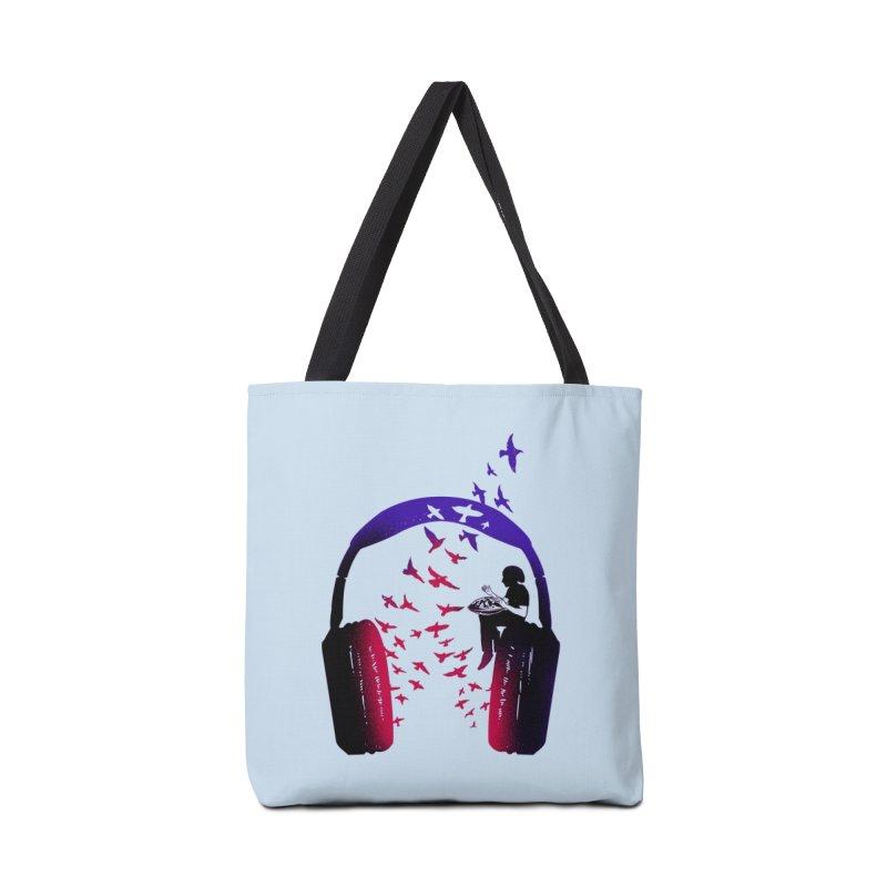 Headphone Music Hang Drum Accessories Bag by barmalisiRTB