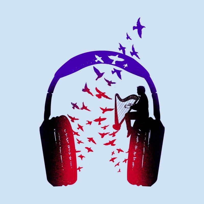 Headphone Music Harp Men's Tank by barmalisiRTB