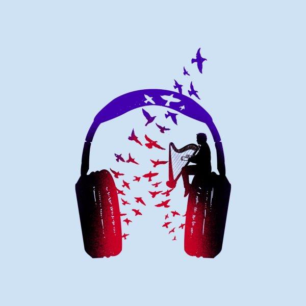 image for Headphone Music Harp