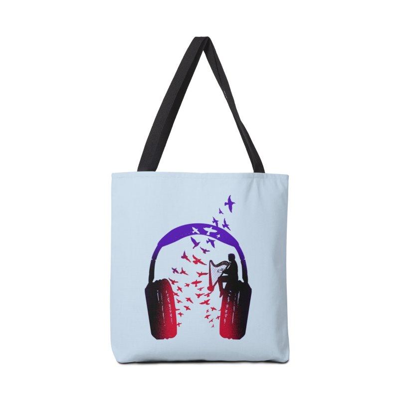 Headphone Music Harp Accessories Bag by barmalisiRTB