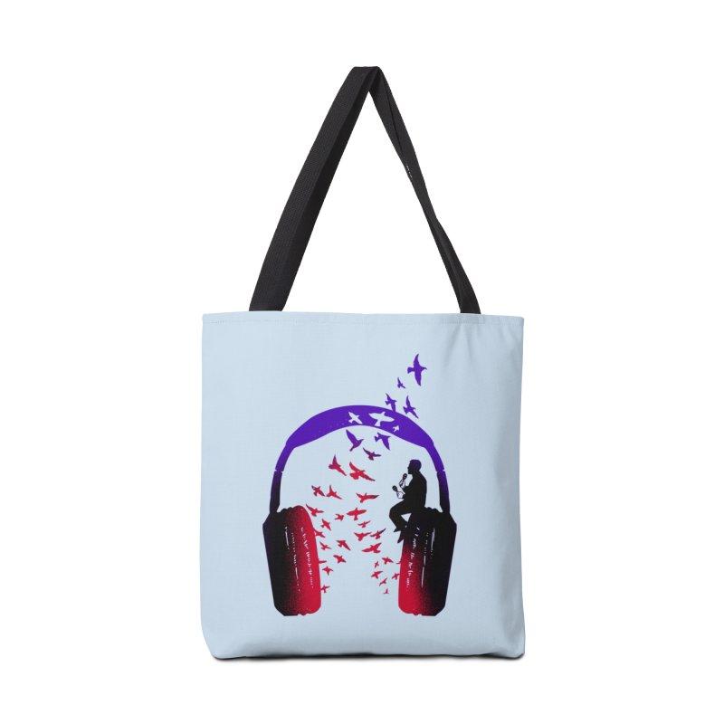 Headphone Music Maracas Accessories Bag by barmalisiRTB