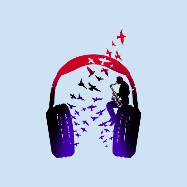 image for Headphone Music Saxophone