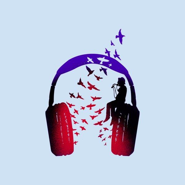 image for Headphone Music Singer