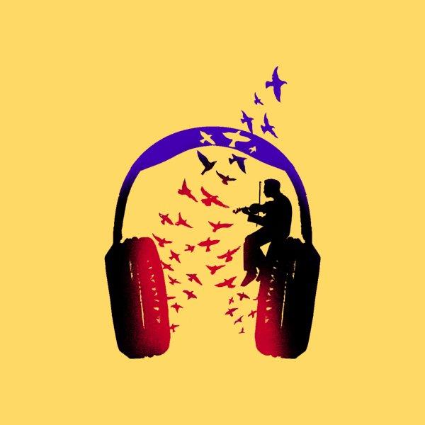 image for Headphone Music Violin
