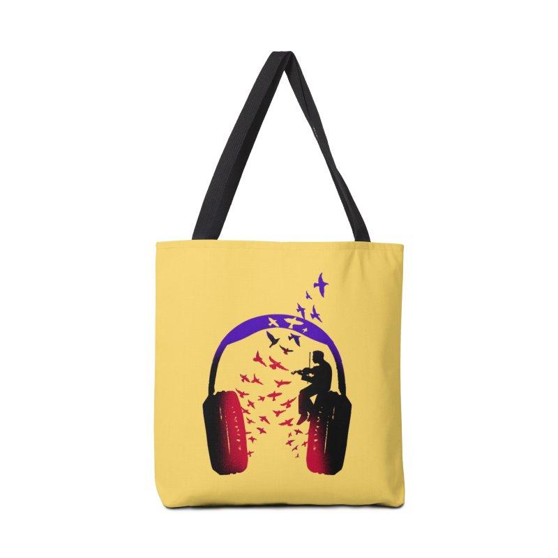 Headphone Music Violin Accessories Bag by barmalisiRTB
