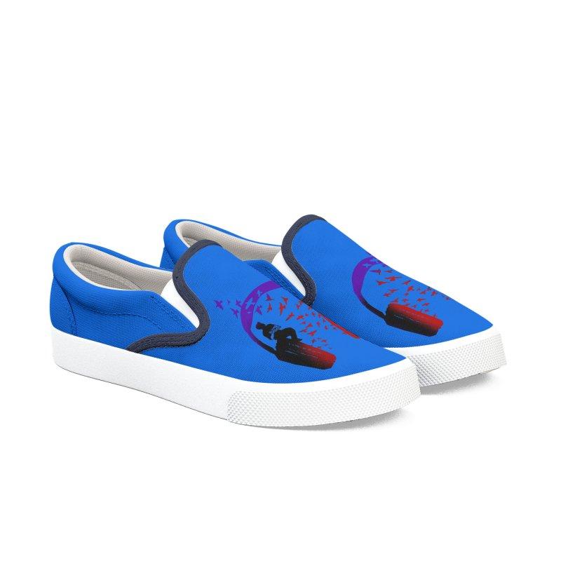 Headphone Music Ukulele Men's Shoes by barmalisiRTB