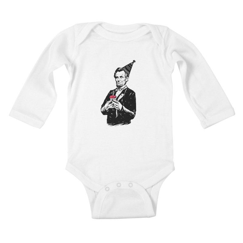 Happy birthday Mr.President Kids Baby Longsleeve Bodysuit by barmalisiRTB