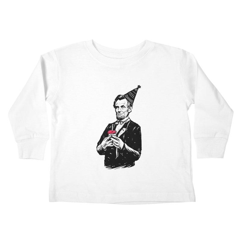 Happy birthday Mr.President Kids Toddler Longsleeve T-Shirt by barmalisiRTB