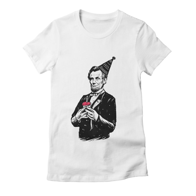 Happy birthday Mr.President Women's Fitted T-Shirt by barmalisiRTB