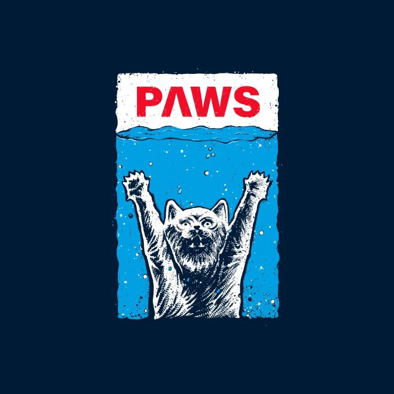 Paws Meow Men's T-Shirt by barmalisiRTB