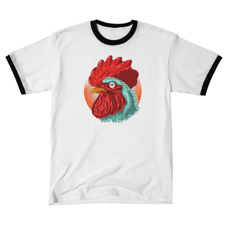 Rooster Love Women's T-Shirt by barmalisiRTB