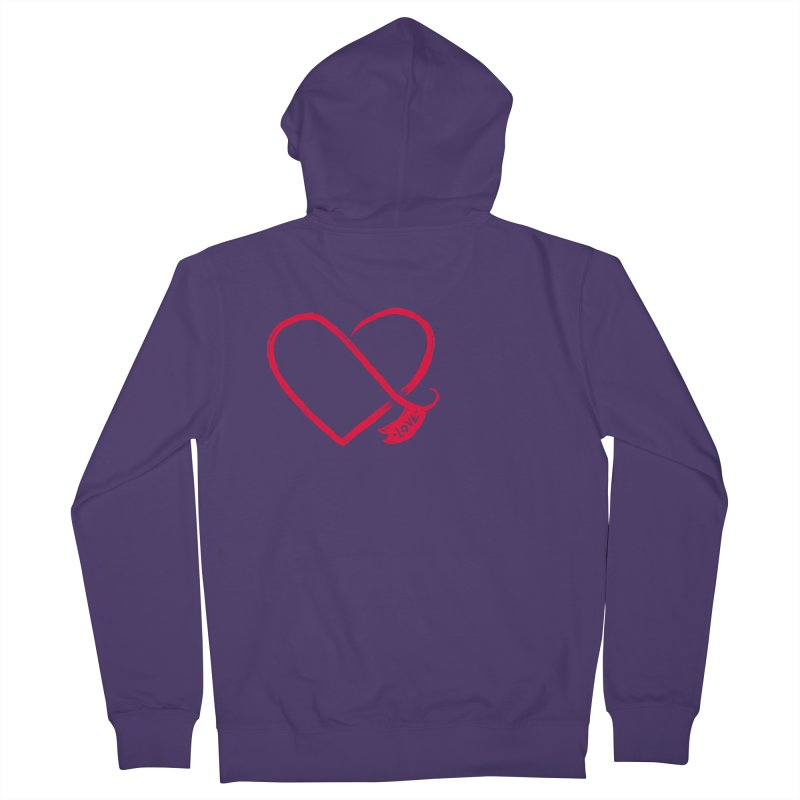 Love Women's Zip-Up Hoody by barmalisiRTB