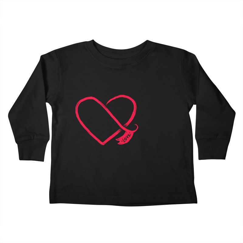 Love Kids Toddler Longsleeve T-Shirt by barmalisiRTB