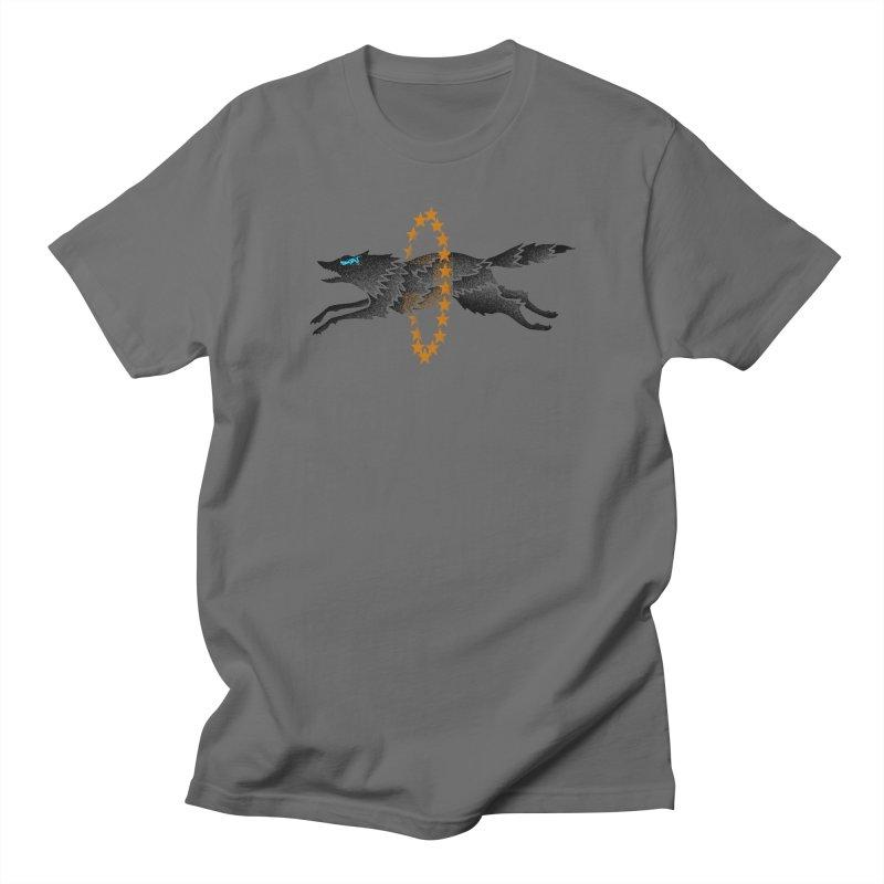 Star Wolf Men's T-Shirt by barmalisiRTB