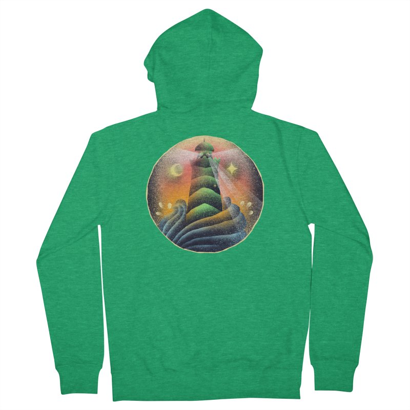 The Lighthouse Women's Zip-Up Hoody by barmalisiRTB