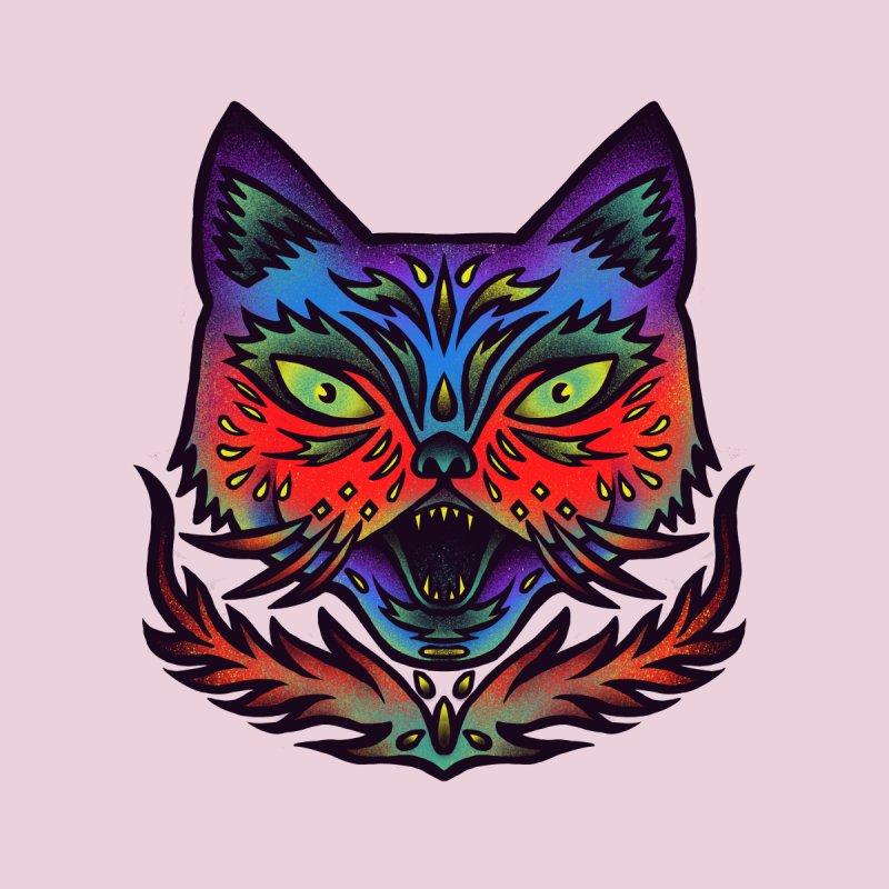 Fierce cat Men's T-Shirt by barmalisiRTB