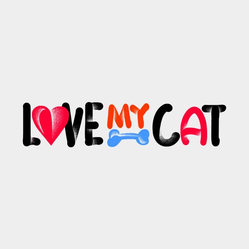 Love My Cat Women's Zip-Up Hoody by barmalisiRTB