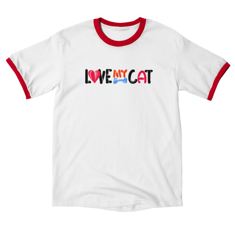 Love My Cat Women's T-Shirt by barmalisiRTB