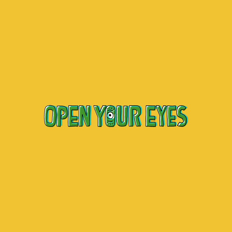 Open your eyes Men's T-Shirt by barmalisiRTB