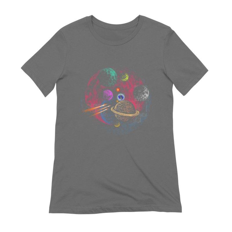 Little Earth Women's T-Shirt by barmalisiRTB