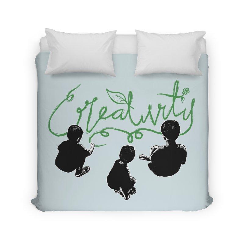 Creative kids Home Duvet by barmalisiRTB