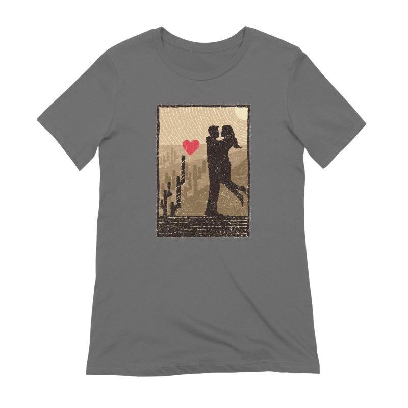 Romance desert Women's T-Shirt by barmalisiRTB