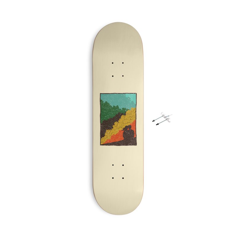 Romance Nature Accessories Skateboard by barmalisiRTB
