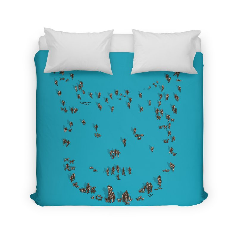 people & Pets Home Duvet by barmalisiRTB