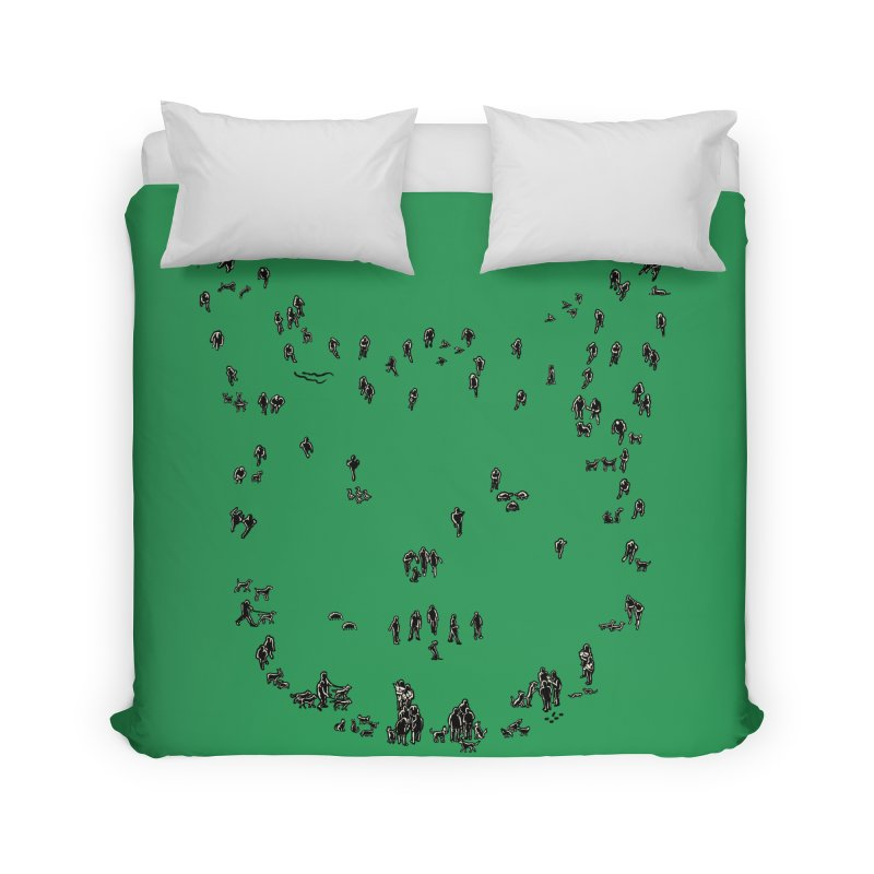People and Pets Home Duvet by barmalisiRTB