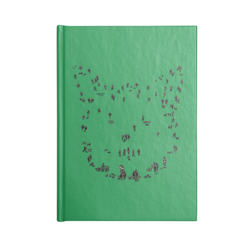 People and Pets Accessories Notebook by barmalisiRTB