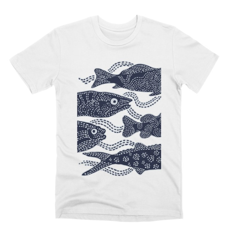 Fish live Men's T-Shirt by barmalisiRTB