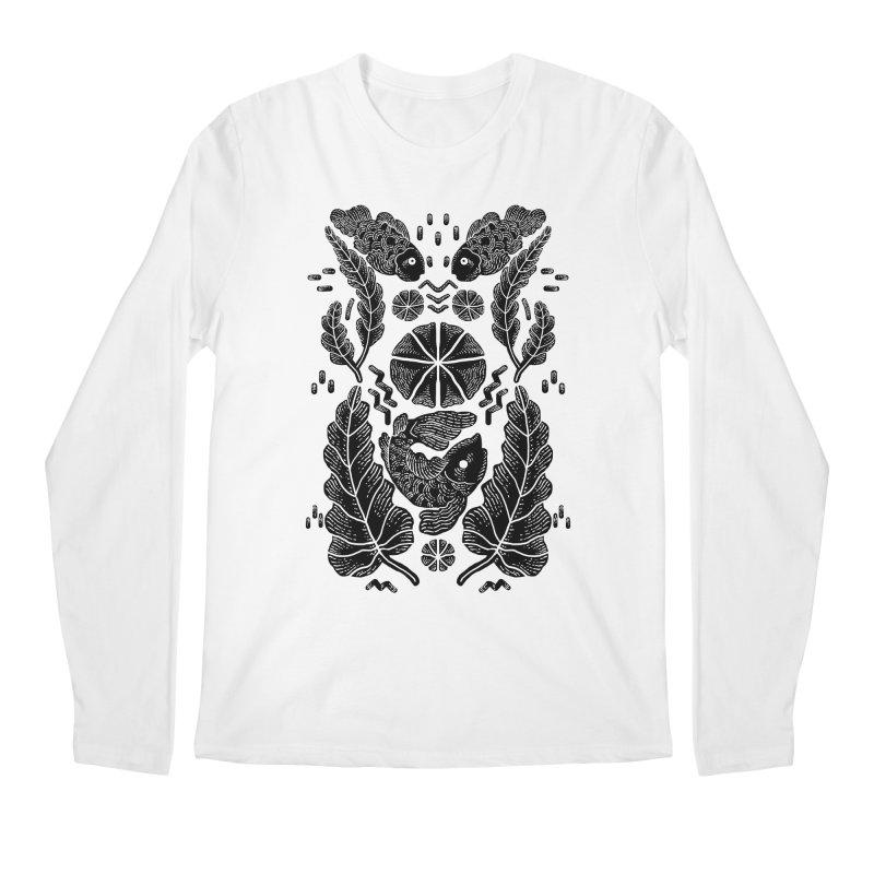 Nature Fish Men's Longsleeve T-Shirt by barmalisiRTB