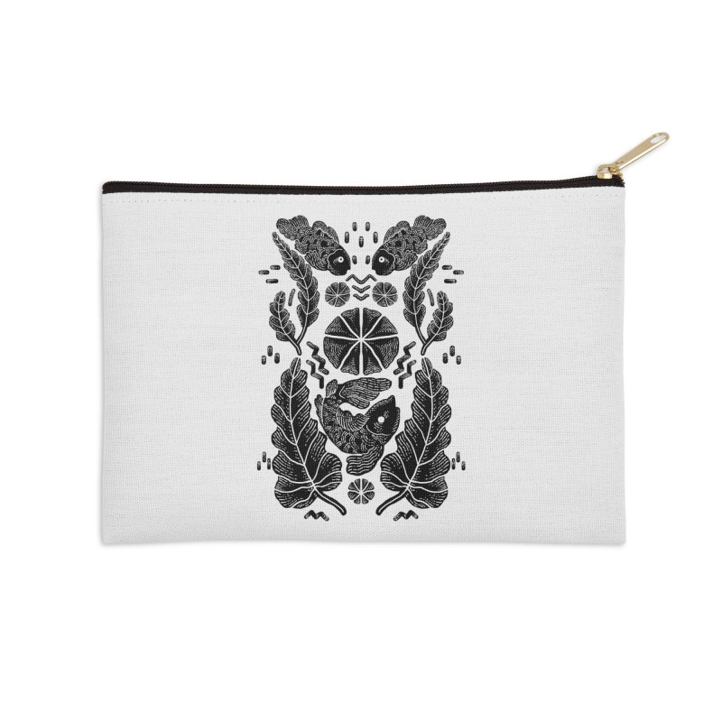 Nature Fish Accessories Zip Pouch by barmalisiRTB
