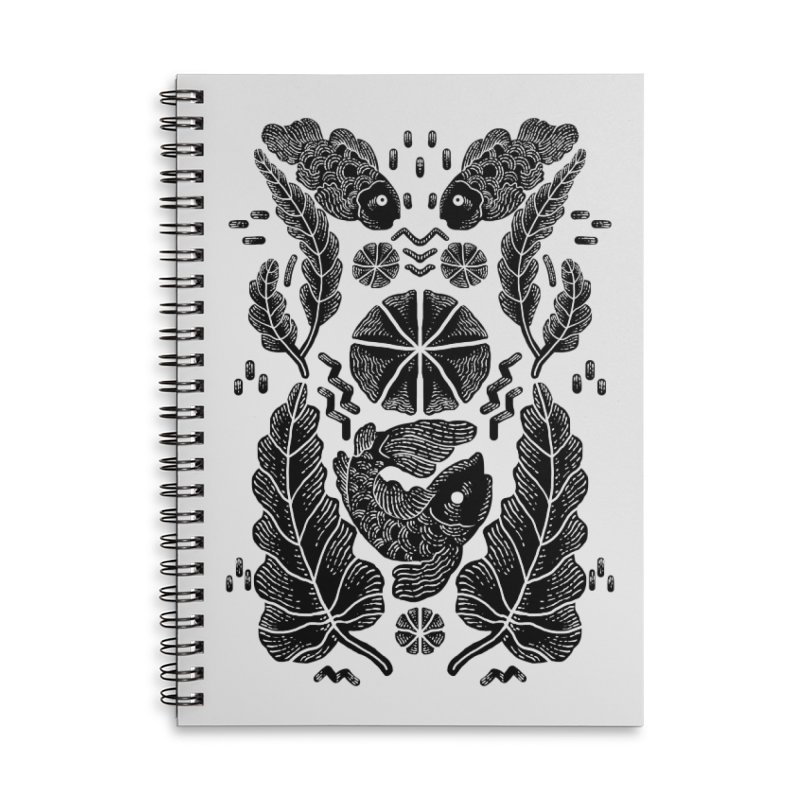 Nature Fish Accessories Notebook by barmalisiRTB