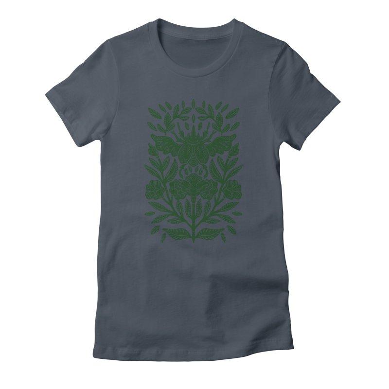 Flying Rhinoceros Beetle Women's T-Shirt by barmalisiRTB