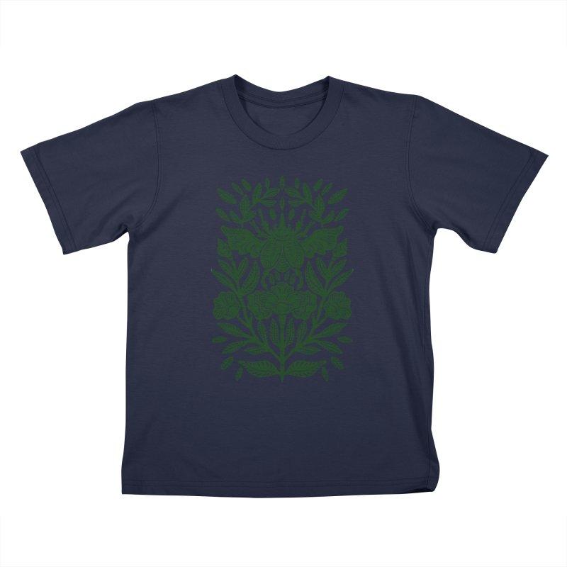 Flying Rhinoceros Beetle Kids T-Shirt by barmalisiRTB