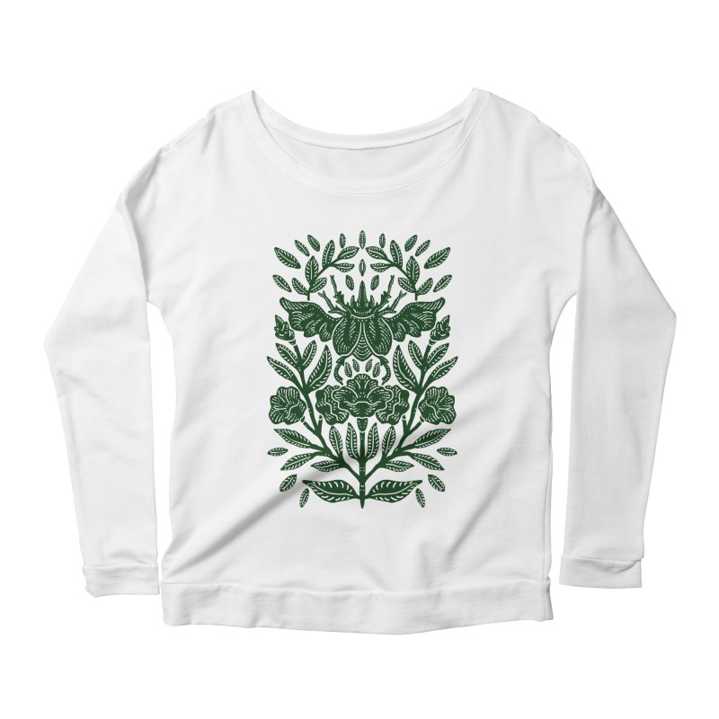 Flying Rhinoceros Beetle Women's Longsleeve T-Shirt by barmalisiRTB