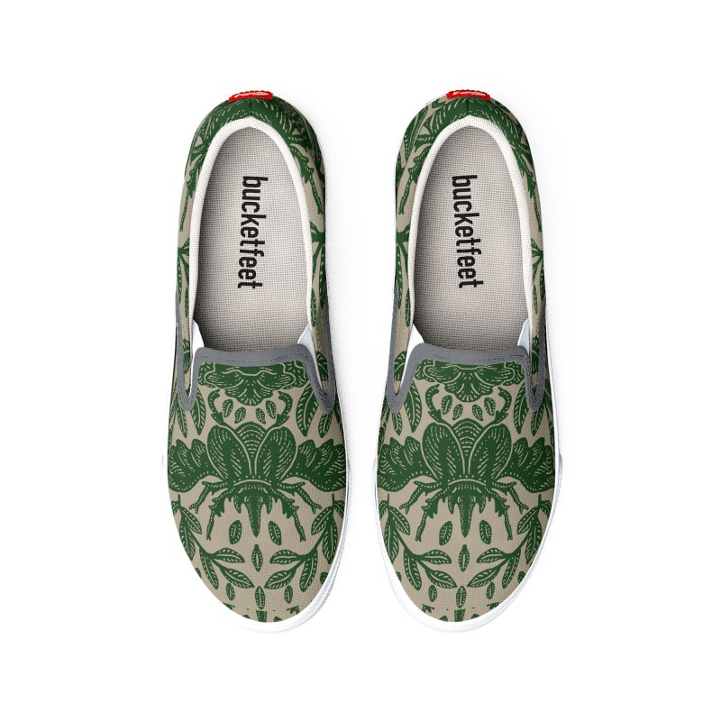 Flying Rhinoceros Beetle Men's Shoes by barmalisiRTB