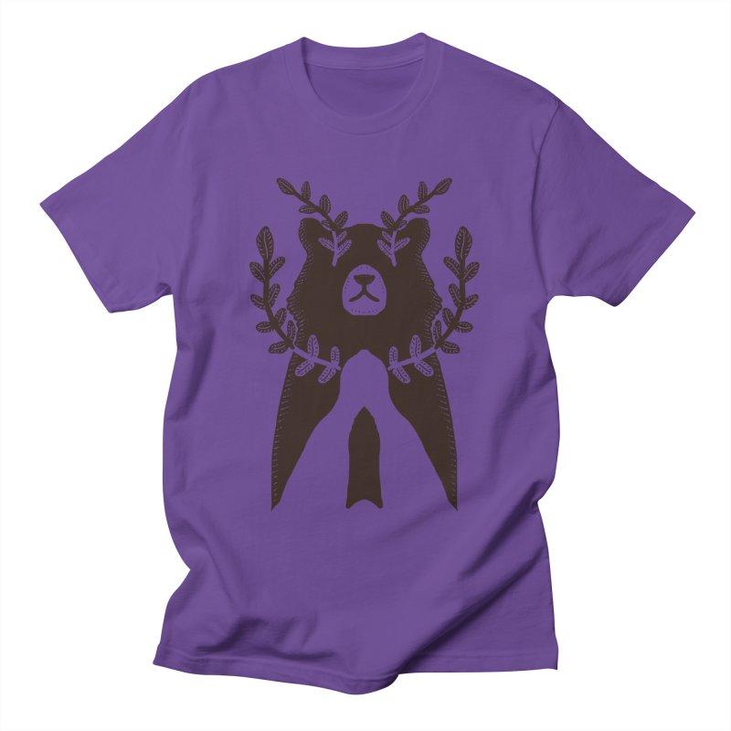 Dreaming Bear Men's T-Shirt by barmalisiRTB