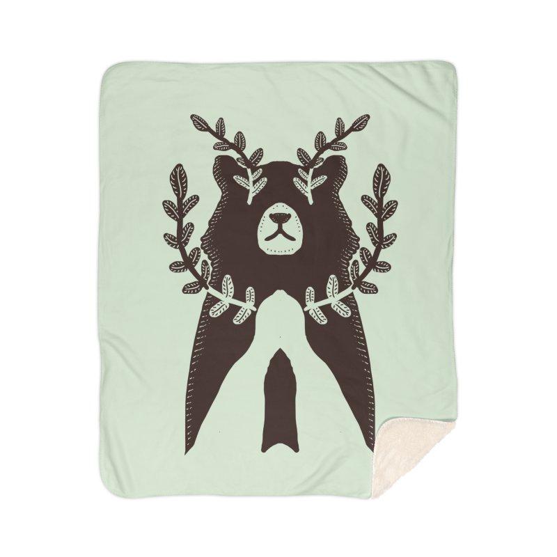 Dreaming Bear Home Blanket by barmalisiRTB